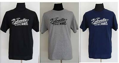 VELOCETTE motorcycle t-shirt - SMALL to 5XL
