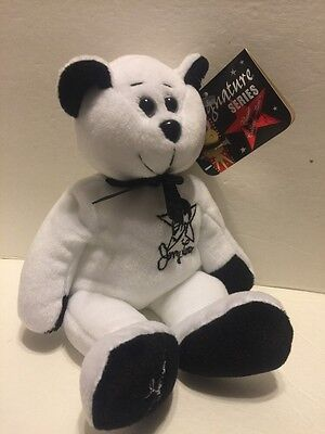 """Signature Series:Jerry Lewis 10"""" Plush Bear #2058/10,000 Classic Collecticritter"""