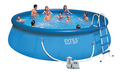 Intex swimming pool easy set 549x122 set 28176 gs eur 429 00 picclick de for Intex swimming pools australia