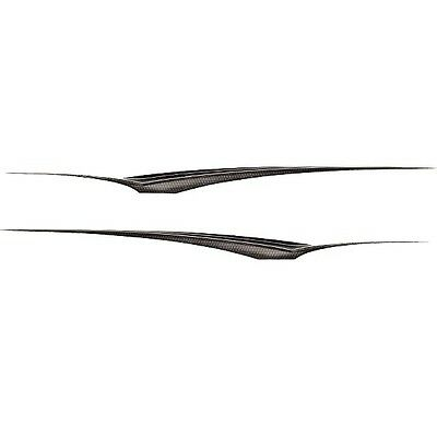 Boat Decals 140007 | Larson 144 x 8 1/2 Black/Silver (Set of 2)