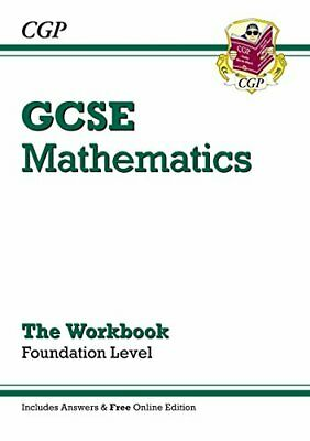 GCSE Maths Workbook with answers and online edition - ... by CGP Books Paperback