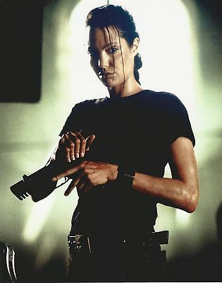 Angelina Jolie Tomb Raider Unnsigned 8X10 Photo