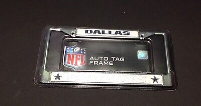 dallas cowboys nfl license plate frame