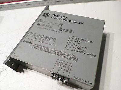 ALLEN BRADLEY -- DH-485 ISOLATED LINK COUPLER -- 1747-AIC - Qty Avail - SLC500