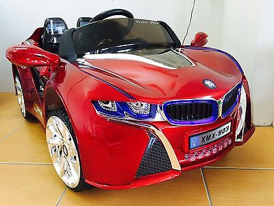 Kids Electric Ride On Car BMW Style Childrens Toy Remote/Manual