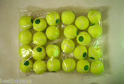 24 Teloon Stage 1 Green Dot Low Compression Tennis Balls