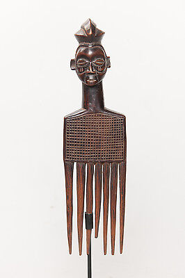 Yaka Comb, South Western Congo, African Tribal Arts, Sculpture