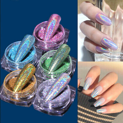 1Box Nail Glitter Mirror Powder Chrome Dust Nail Art Pigment Manicure DIY Tool