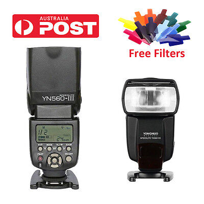 YONGNUO YN560 III YN-560III Wrieless Flash Speedlite for Nikon Canon Pentax AU