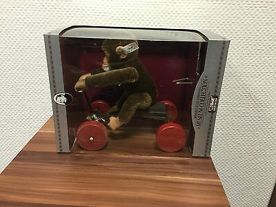 STEIFF AFFE 400759 Record Peter 25 CM / mit Verpackung