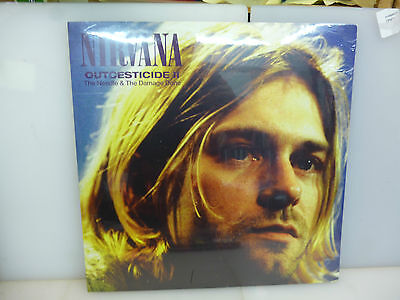 Nirvana-Outcesticide Ii. Rarities-Clear Vinyl Lp-New.sealed