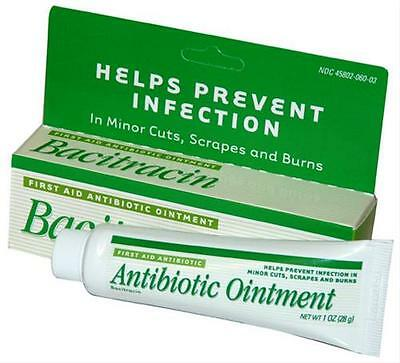 Brand NEW BACITRACIN Ointment 1 oz Tubes, Factory-Sealed, Brand New