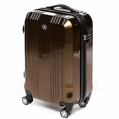 "FERGÉ 20"" inch suitcase CANNES - hard-top luggage Carry Case Cabin Light 2.9 kg"