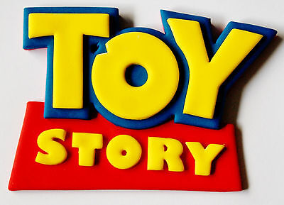 Toy Story Logo Edible Cake Topper X 1 - Choose Your Size.... Fantastic