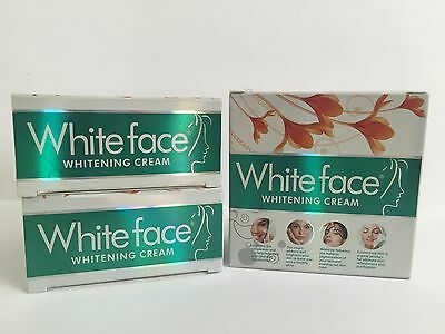 3x White Face Whitening Cream Removes Acne, Dark Spots, Pimples & Freckles