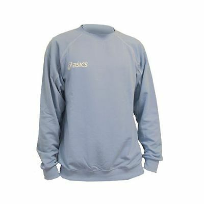sweat-shirt  junior, ASICS alpha, BLEU clair en XS / 1016XZ-00ET
