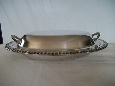 Wm Rogers Silver covered casserole dish nice vintage piece