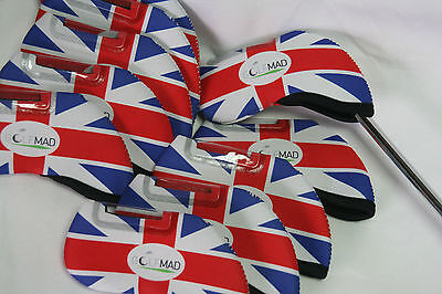 10 Golf Mad UK Iron Covers Golf Headcovers for Callaway Taylormade Mizuno Only