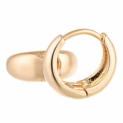 Teen Girl Toddler childrens safety baby hoop Earrings 10K Gold Filled  jewelry
