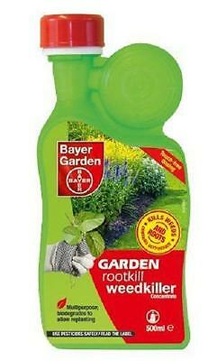 Bayer Garden Rootkill Weedkiller Concentrate 500ml Pack