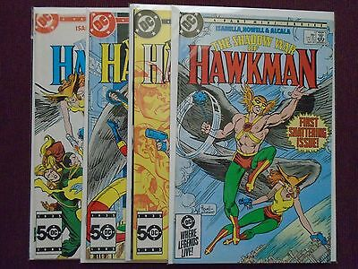 Shadow War of Hawkman #1 to #4 - New NM - 1985