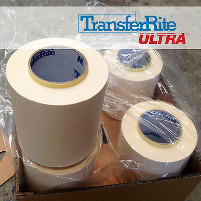 TransferRite Application Tape for Sign Vinyl (5 Roll - 108mmx100m) Free Shipping