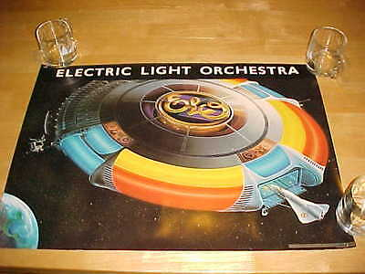 ELO Electric Light Orchestra Out of the Blue Vintage 1977 Album Art Poster