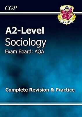 A2-Level Sociology AQA Complete Revision & Practice (A... by CGP Books Paperback