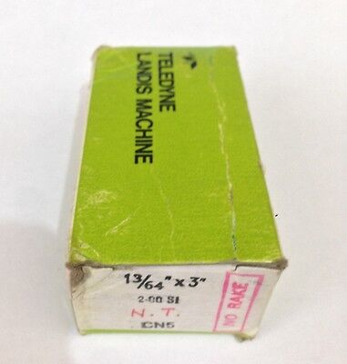 "LANDIS HSS Threading Chasers 13/64"" X 3"" 2.00SI N.T NO RAKE CN5 NEW DIE PIPE"