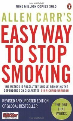 Allen Carr's Easy Way to Stop Smoking: Be a Happy No... by Carr, Allen Paperback