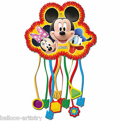 28cm Disney Mickey Mouse Playful Clubhouse Party Mini Pull Pinata Game