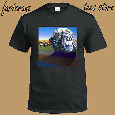 Emerson Lake & Palmer ELP Tarkus Rock Band Men's Black T-Shirt Size S to 3XL