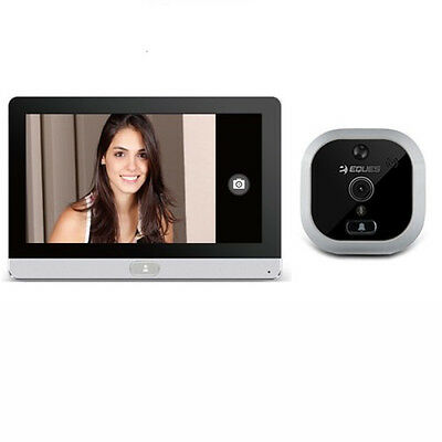 Eques R22 wireless Spioncino Digitale Porta camera 2Mpx Con Schermo Display Touc