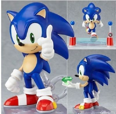 Nendoroid 214 The HEDGEHOG Super Sonic PVC Action Figure Anime Toy Gift