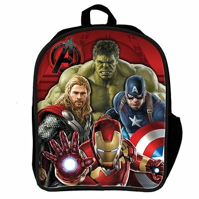 Avengers Age Of Ultron Backpack School Bag - 3D Lenticular - Official Marvel