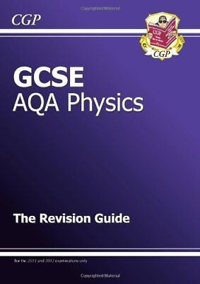 GCSE Physics AQA Revision Guide, CGP Books Paperback Book The Cheap Fast Free
