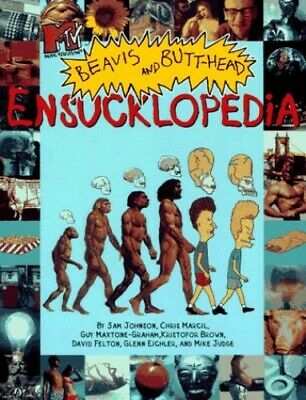 Beavis and Butthead Ensucklopedia by Judge, Mike Paperback Book The Cheap Fast