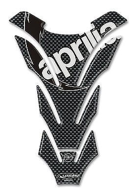Sticker 3d gel TANK PAD PROTECTOR compatible with motorbike APRILIA carbon look