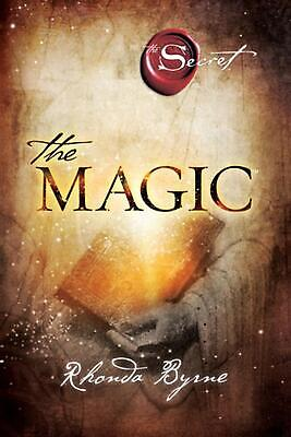 The Magic by Rhonda Byrne (English) Paperback Book Free Shipping!