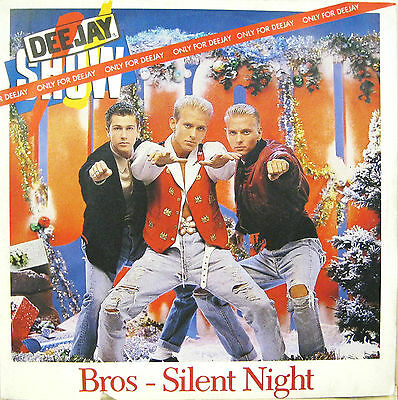 """BROS """"SILENT NIGHT"""" rare 7' Italy promo only. mint"""