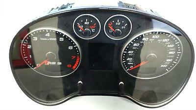 2012 Audi A3 RS3 2.5 Petrol SPEEDO Instrument CLOCKS & WARRANTY - 5031027