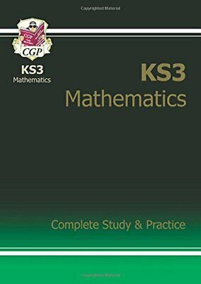 New KS3 Maths Complete Study & Practice - Higher (with... by CGP Books Paperback