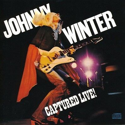 Johnny Winter - Captured Live [New CD]