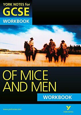 Of Mice and Men: York Notes for GCSE Workbook (Grades A*-G) by Gould, Mike Book