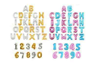 New Letters and numbers Helium  Balloons Holiday / Party / wedding Supply