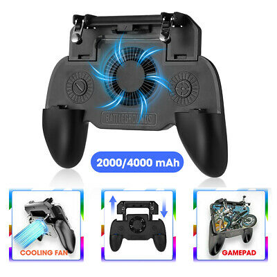 PUBG Mobile Game Controller Trigger Cooling Fan SR Scalable Gamepad Cooler