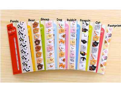 120pages Cute Animal Pet Note Post-it Note / Memo /Writing Pad Paper