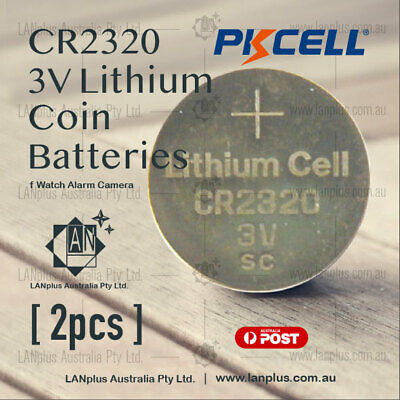 2 x CR2320 3V Lithium Battery STOCK IN Melbourne Button Coin Cell CR-2320