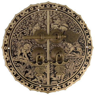 """Six Horses Cabinet Face Plate 5-1/2"""""""