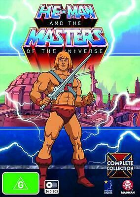 He-Man and the Masters of the Universe: Complete Collection - DVD Region 4 Free